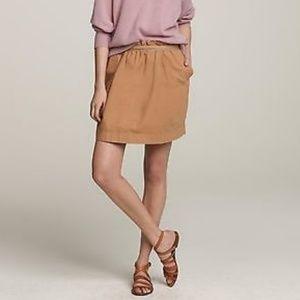 J. Crew cotton bell paperbag skirt
